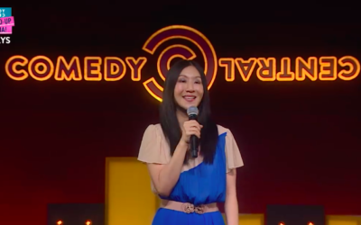 How an open mic led me to Comedy Central